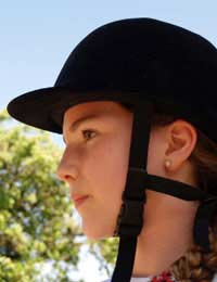 Riding Clothing Clothes Grip Heel Hat